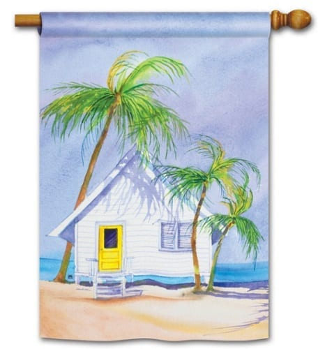 Beach House Flag | Decorative Flags | House Flags | Garden House Flags