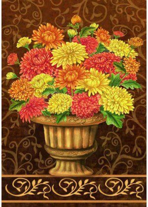 Mums Bouquet Flag | Fall Flag | House Flags | Floral Flags | Cool Flags