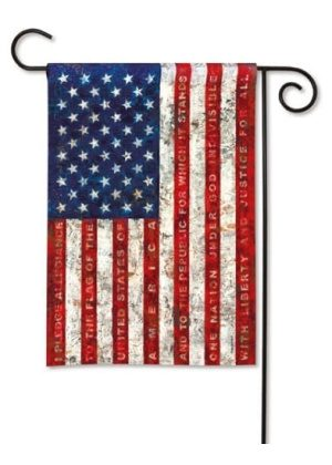 Pledge of Allegiance Garden Flag | Patriotic Flags | 4th of July Flags | Flag