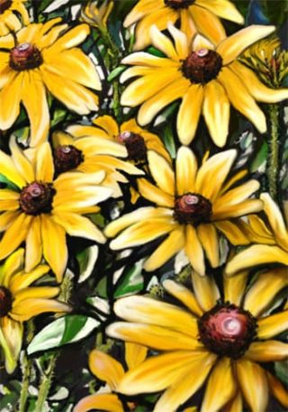 Black Eyed Susans Flag | Floral Flags | Spring Flags | Summer Flags