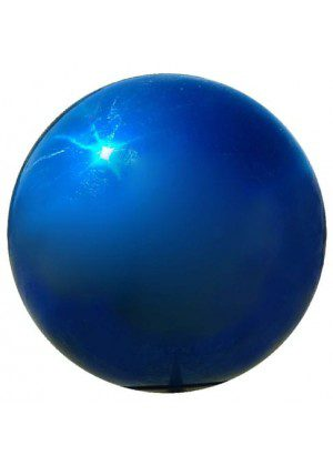 Blue Metal Gazing Ball | Gazing Balls | Stainless Steel Gazing Balls