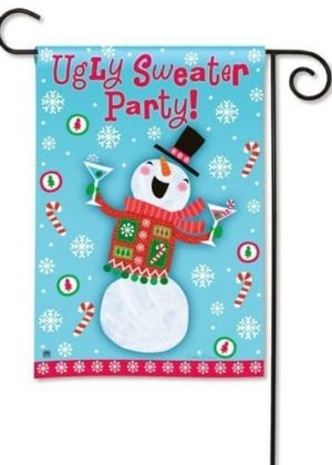 Ugly Sweater Party Flag | Holiday Flags | Christmas Flags | Winter Flags