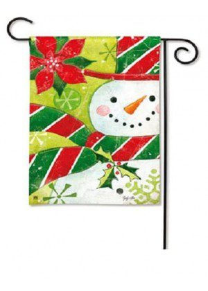 Candy Hat Garden Flag | Christmas Flags | Holiday Flags | Winter Flags