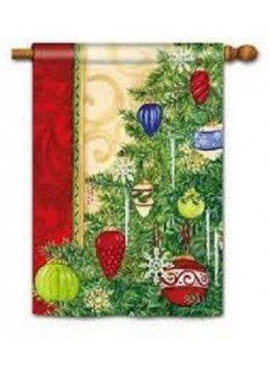 Trim the Tree House Flag | Christmas Flags | Holiday Flags | Yard Flags