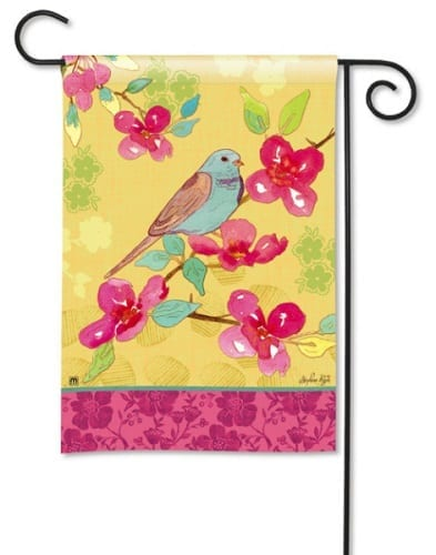 Spring Song Flag | Decorative Flags | Garden Flags | Garden House Flags
