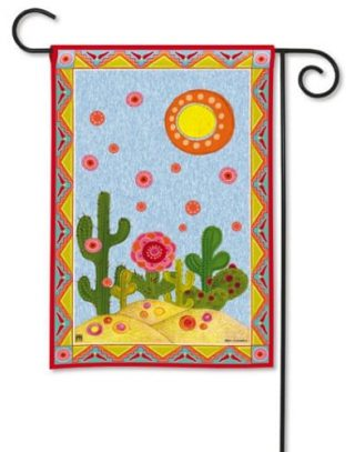 Desert Garden Garden Flag | Floral Flags | Summer Flags | Cool Flags