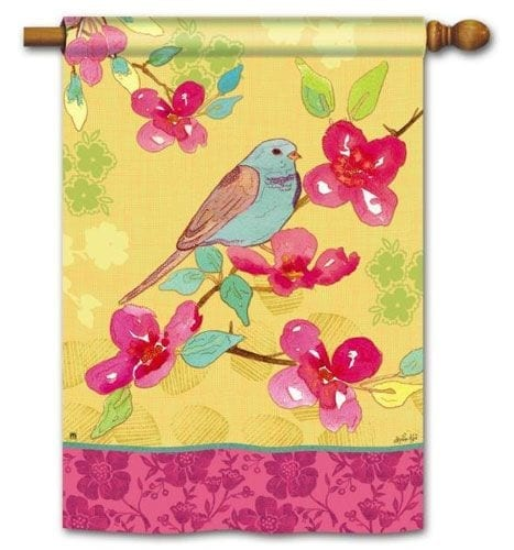 Spring Song Flag | House Flags | Decorative Flags | Garden House Flags