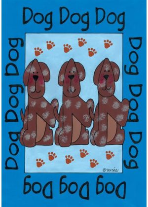 Puppies Flag | House Flags | Garden Flags | Yard Flags | Animal Flags
