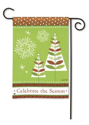 Celebrate the Season Garden Flag | Christmas Flags | Holiday Flags | Flag