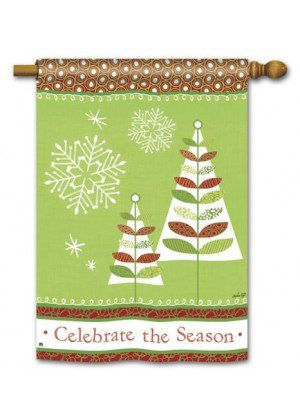 Celebrate the Season House Flag | Christmas Flags | Yard Flags | Flags