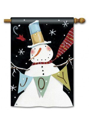 Snowman Celebration House Flag | Winter Flags | Snowman Flags | Flags