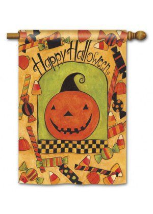 Lots of Candy House Flag | Halloween Flags | Yard Flags | Cool Flags