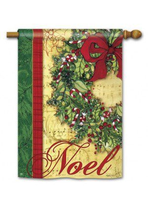 Noel House Flag | Christmas Flags | Holiday Flags | Yard Flags | Cool Flag