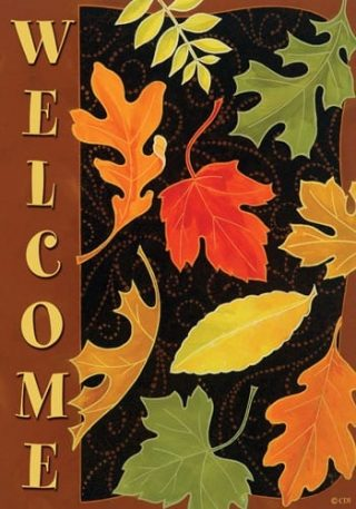Beautiful Leaves Flag | Fall Flags | Floral Flags | Welcome Flags | Flags