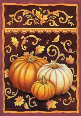 Fall Pumpkins Flag | Thanksgiving Flags | Holiday Flags | Fall Flags | Flags