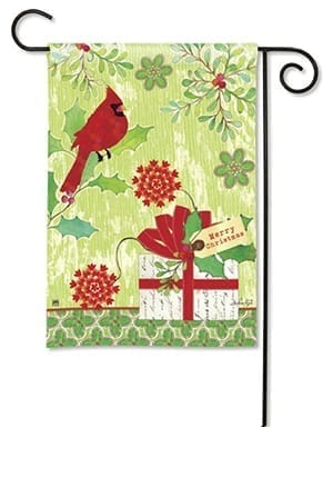 Christmas Gift Garden Flag | Christmas Flags | Winter Flag | Holiday Flags