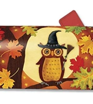 Halloween Owl Mailbox Cover | Decorative Mailwraps | Mailbox Covers