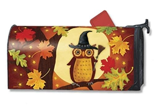 Halloween Owl Mailwraps Mailbox Cover
