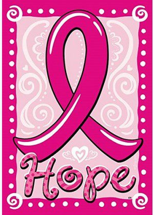 Hope Ribbon Flag | House Flags | Garden Flags | Garden House Flags