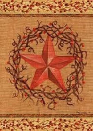 Star Wreath Flag | Patriotic Flags | House Flags | Floral Flags | Cool Flags