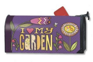 Love My Garden Mailbox Cover | Decorative Mailwraps | Mailbox Covers