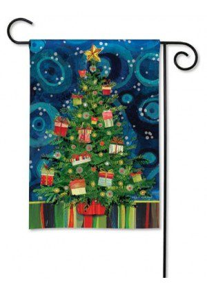 Mod Christmas Garden Flag | Christmas Flags | Holiday Flags | Yard Flags