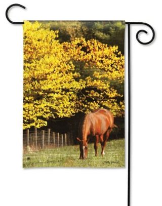 Out to Pasture Garden Flag | Fall Flags | Animal Flags | Yard Flags