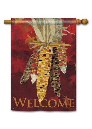 Maize House Flag | Thanksgiving Flags | Holiday Flags | Fall Flags | Flags