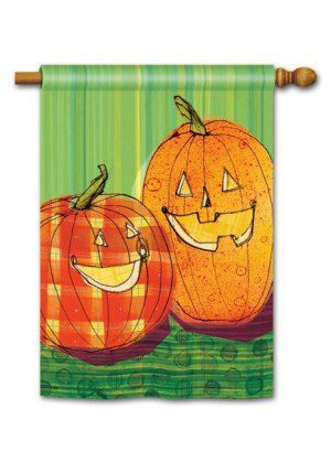 Punkin Time House Flag | Halloween Flags | Holiday Flags | Yard Flags