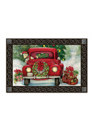 Bringing Home the Tree Doormat | Doormats | MatMates | Garden Decor