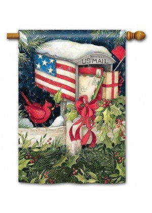 Christmas Cards House Flag | Christmas Flags | Yard Flags | Cool Flags