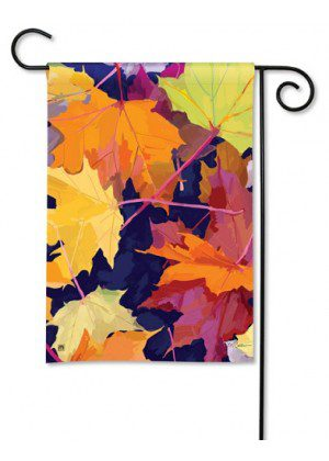 Maple Leaves Garden Flag | Fall Flag | Floral Flag | Yard Flags | Cool Flag