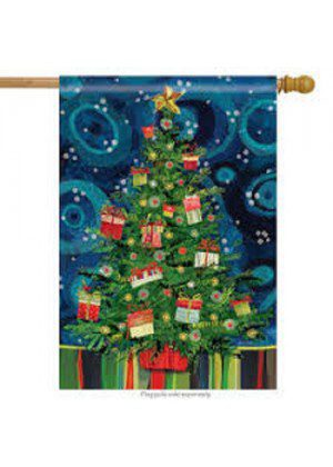 Mod Christmas House Flag | Christmas Flags | Yard Flags | Cool Flags