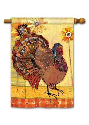 Trendy Tom House Flag | Thanksgiving Flags | Yard Flags | Fall Flags