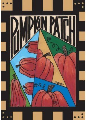 Fall Pumpkin Patch Flag | Fall Flags | Halloween Flags | Yard Flags
