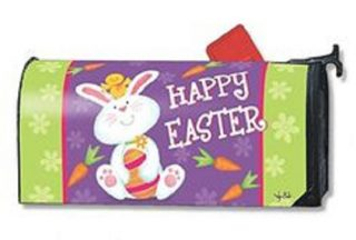 Bunny and Chick Mailbox Cover | Mailwraps | Garden House Flags