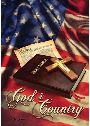 God & Country Flag | Inspirational Flags | Patriotic Flags | Summer Flags