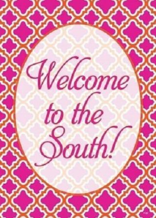 Welcome to the South Flag | Welcome Flags | Double Sided Flags | Flags