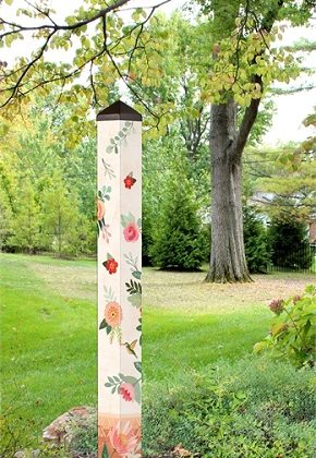 "60"" Terra Flora Art Pole 