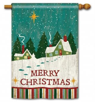 Home for Christmas House Flag | Christmas Flags | Holiday Flags | Flags