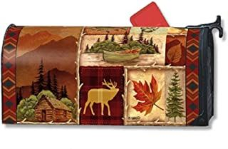 Cabin Fever Mailbox Cover | Decorative Mailwraps | Mailbox Covers