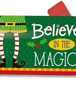 Elf Watching Mailbox Cover | Mailwraps | Christmas Mailbox Covers