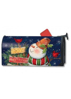 Signs of Christmas Mailbox Cover | Decorative Mailwraps | Mailbox Covers