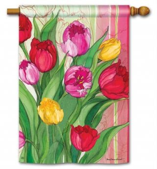 Glorious Garden House Flag | Floral Flags | Spring Flags | Yard Flags