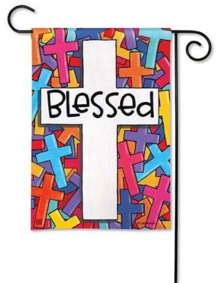 Colorful Crosses Garden Flag | Easter Flags | Flags | Inspirational Flags