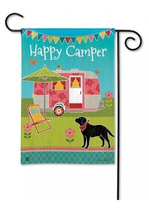 Camping Out Garden Flag | Inspirational Flags | Garden Flags | Cool Flags