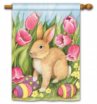 Hiding the Eggs House Flag | Easter Flags | Holiday Flags | Yard Flags
