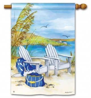 Waterside House Flag | Beach Flags | Summer Flags | Yard Flags | Flags