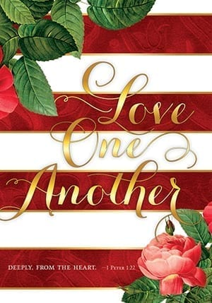 Love One Another Deeply Flag