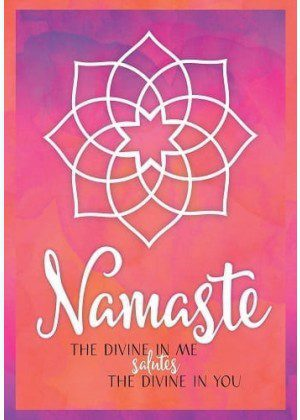 Namaste Flag | House Flags | Garden Flags | Flags | Inspirational Flags